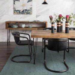 mid century style dining furniture