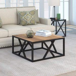 fondo claro casa de campo rústica mesa de café