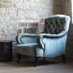 sillón de estilo victoriano