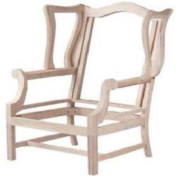 Structure de chaise en bois clair