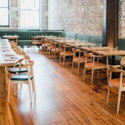 simple indoor restaurant architecture