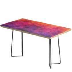 multi-color mid-century restaurant table