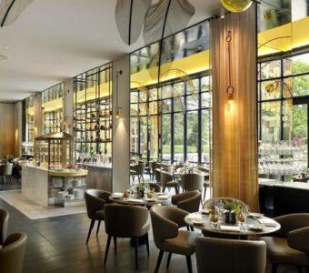 minimialistic fine dining restaurant