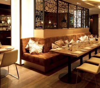 Fine Dining Restaurant architectural layout