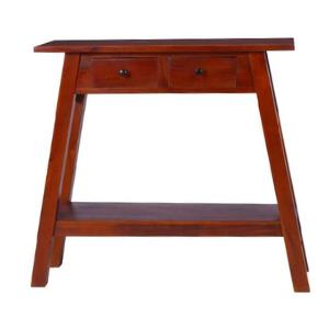 entranceway console table in premium mahogany wood