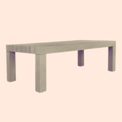 simple outdoor-grade Acacia Wood Outdoor Table