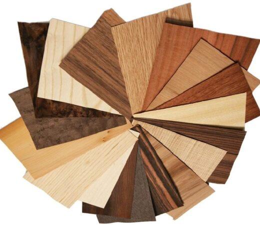 Various Plywood Veneer Samples