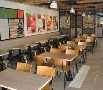 quick service diner interiors