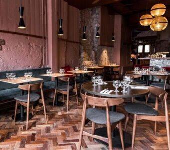 mid century rustic dining furniture