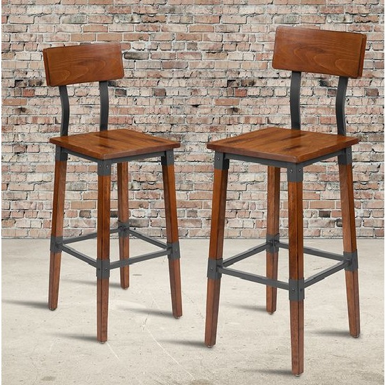 Rustic Restaurant Dining Chairs - Project Installation in West Australia by FurnitureRoots