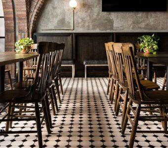 farmhouse still restaurant interorors & flooring