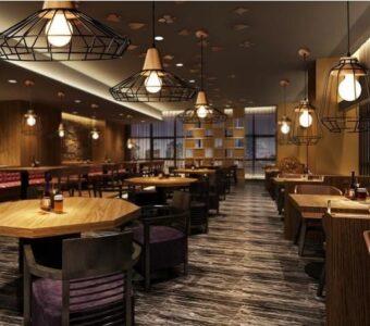 tavern style accent lighting
