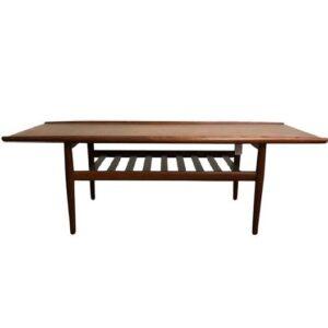 bedroom table in solid teak