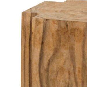 closeup texture of teakwood stump