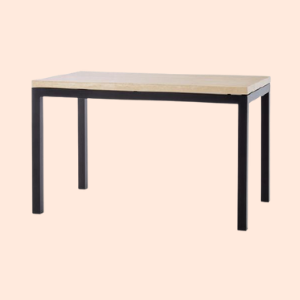 simple low cost 4 person standard restaurant table design