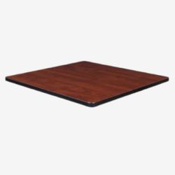 dark walnut square tabletop