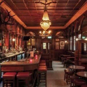 classic english pub-themed interiors