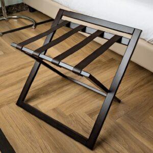 Gepäckablagen aus Holz für Hotelzimmer