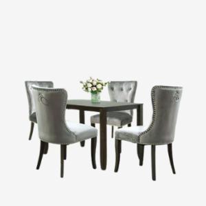 modern upholstered victorian dining sets