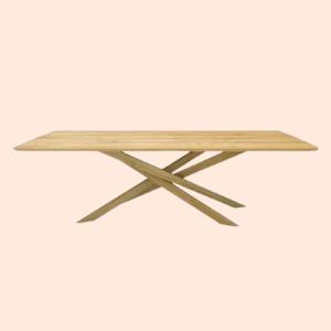 mid century modern restaurant table