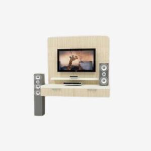 Heller TV-Ständer für kleine Budgethotels