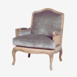 velvet upholstered victorian armchair