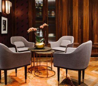 elegant tub chairs for restaurant & bar lounge setups